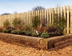 Lawn and Garden Edging, Borders, Planters and Sleepers Garden Shrubs, Garden Edging, Garden Planters, Landscaping With Rocks, Backyard Landscaping, Landscaping Ideas, Summer Garden, Lawn And Garden, Railway Sleepers Garden
