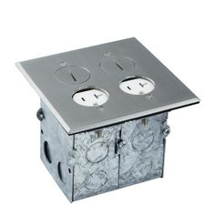 Topgreener 961246 Water Proof Lid Pop Up Floor Box With