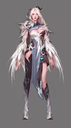 https://www.google.ru/search?newwindow=1 | fantasy characters, woman, female, girl, magical angel, wings