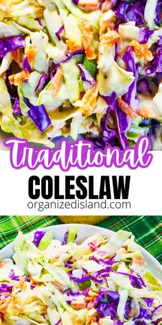 Coslaw Recipes, Sprout Recipes, Easy Salads, Healthy Salad Recipes, Kitchen Recipes, Side Dish Recipes, Grilling Recipes, Summer Recipes, Popular Recipes