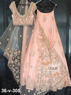 One of our Indian wedding dresses. Using one of our signature blush tones from our hand picked colour palettes. Colour customisation available with our Indian bridalwear and Indian wedding dress collection weddings Indian Bridal Outfits, Indian Designer Outfits, Indian Dresses, Indian Clothes, Indian Wedding Clothes, Indian Bridal Wear, Indian Wear, Asian Wedding Dress, Desi Wedding Dresses