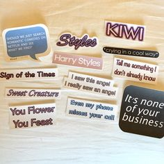 Excited to share the latest addition to my #etsy shop: Harry Styles Stickers #liampayne #niallhoran #louistomlinson #harrystyles