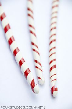 Auctioning Off Series Candy Cane Crochet Hooks