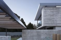 Fendalton House - Inspiration for materials: Concrete Steel, Raw wood