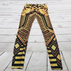 3f553a016 King Tut Leggings Size Small KTOO Womens Geometric Used Condition Made In  USA #KTOO #Casual