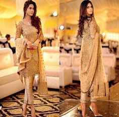 """Gorgeous Pakistani outfit in Allechant ✨⭐️"" Pakistani Couture, Indian Couture, Pakistani Outfits, Indian Outfits, Eid Outfits, Fashion Outfits, Indian Attire, Indian Wear, Salwar Kameez"