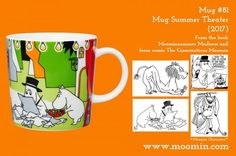 2017 Moomin Summer mug, mug six packs, plate and Moominpappa & Little My spoons are now here! Seasonal products are.