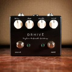 The TMG DRHive. This is the signature overdrive over David Ryan Harris (if you don't know who he is, you should). I watched a demo of this pedal by Pete Thorn and I have become obsessed with the tone from this pedal and I have a feeling you will too.