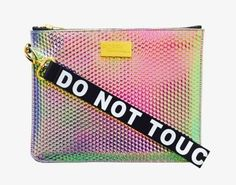 Poppy Lissiman クラッチバッグ DO NOT TOUCH MY CLUTCH PINKポピー・リシマン クラッチバッグ