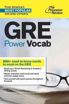 The Princeton Review GRE Power Vocab