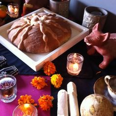 Dia de los Muertos Recipes: Pan de Muerto From @Mandy Bryant Bryant Dewey Seasons Resort Punta Mita, Mexico
