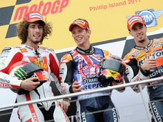 Casey Stoner and Marco Simoncelli