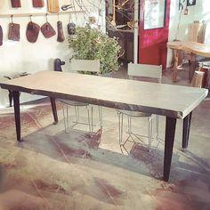 Rescued Wood Harvest Table - WOODSWAN - PLATEAU PL103