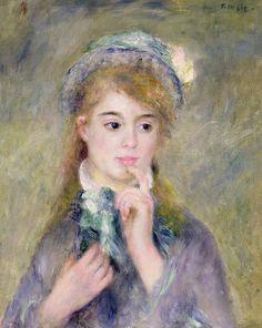 L'ingenue  -  Pierre Auguste Renoir
