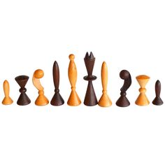 Star Trek Space Age Chess Set by Arthur Elliot for Anri | From a unique collection of antique and modern games at http://www.1stdibs.com/furniture/more-furniture-collectibles/games/