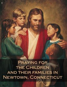 Praying for the children, the staff, the families, first responders and all in Newtown, CT.