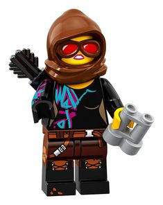 Ba... LEGO Movie 2 Rex Dangervest Smile Angry Minifigure Split from 70826 Set