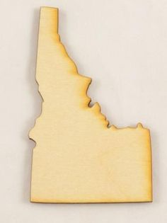 Idaho State Cutout   Unfinished Wood Cutouts   Wood Shapes
