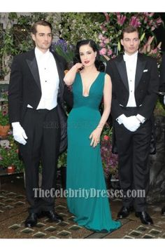 Dita Von Teese Sexy Deep V-neck Prom Dress Fragrance Launch Celebrity Gowns  - TheCelebrityDresses. Isabella Cassano · valentino 22b129f5f1