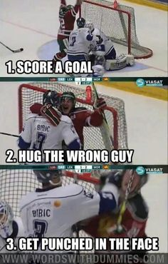 Funny pictures about Hockey step by step. Oh, and cool pics about Hockey step by step. Also, Hockey step by step. Funny Shit, Haha Funny, Funny Memes, Funny Hockey Memes, Funny Stuff, Freaking Hilarious, Hockey Puns, Lacrosse Memes, Farts Funny