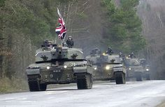 Challenger 2 Tanks with the 2nd Royal Tank Regiment