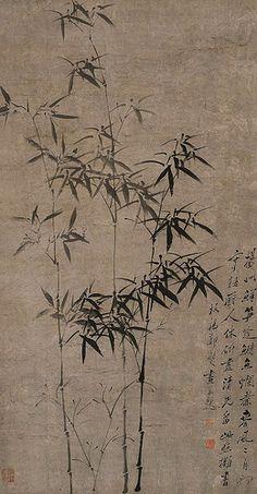 清代 - 鄭板橋                                   Qing Dynasty artist Zheng Xie 鄭燮 (板橋)