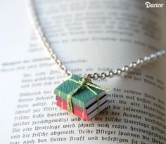 How To: Book Lovers Necklace
