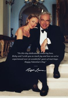 Happy Valentine's Day from Ralph and Ricky Lauren