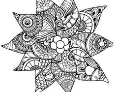 Christmas Adult Coloring Pages Inspirational Christmas Coloring Page for Adults Poinsettia Coloring Page Coloring Pages For Grown Ups, Detailed Coloring Pages, Online Coloring Pages, Printable Adult Coloring Pages, Mandala Coloring Pages, Doodle Coloring, Coloring Book Pages, Colouring, Christmas Coloring Sheets