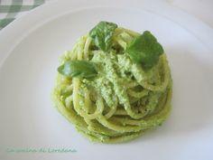 Spaghetti con pesto di zucchine - Ricetta semplice