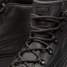 Turning their attention to the great outdoors, Puma offer up The Ren Boot. Geared for foul weather and kitted out with a full leather uppers that have been treated with a water-resistant finish purposefully implemented to keep the elements at bay. The built-in footsock ensures maximum all-day comfort while the rugged lugged rubber sole unit delivers exceptional durability and underfoot stability on harsh terrain.  Leather Uppers Water-Resistant Coating Footsock Liner Lugged Rubber Outsole…