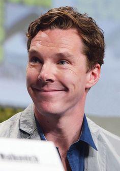 Benedict Cumberbatch at San Diego Comic Con, 2014.