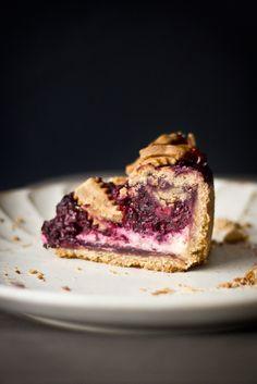 Blackberry Cream Cheese Pie