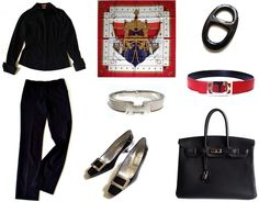 Hermes 'La Réale', Bow knot, Capsule wardrobe, MaiTai Collection horn scarf ring,