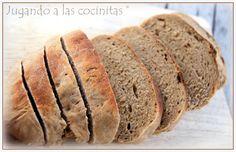 JUGANDO A LAS COCINITAS: Pan de centeno en microondas