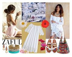 """ZAFUL"" by elza-345 ❤ liked on Polyvore featuring Anjuna, Sole Society and Panacea"