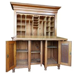 Rare Tall Butlers Fall-Front Desk | 1stdibs.com