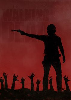 The Walking Dead fan art.