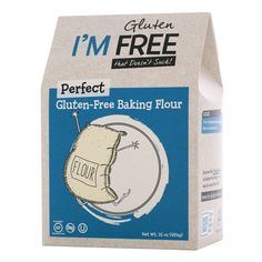 I'm Free Perfect Gluten Free Baking Flour Vegan/Gluten Free/Non-GMO/OU Kosher Certified * See this awesome image