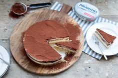 De Philadelphia cheesecake die Brenda heeft bedacht is gebaseerd op (wat mij betreft) het lekkerste Italiaanse dessert: tiramisu!