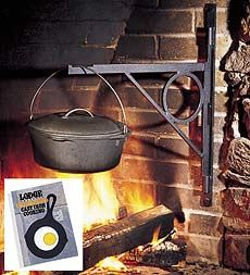 Fireplace & Woodstove Cookery #cookery