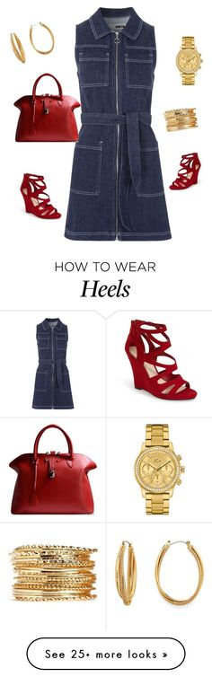 """Untitled #304"" by essiekuda on Polyvore featuring Topshop, Jessica Simpson, Golden Goose, Diane Von Furstenberg and Lacoste"