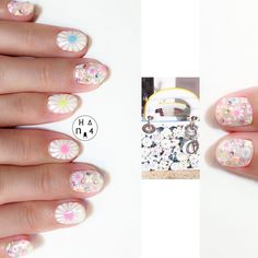 inspired by @dior  ・ 可愛いフラワーネイルは #dior のバックのイメージから! ネオンカラーのアクセントがキュート @putielnail を使ってやりました ・ #putiel #flowers #flowernails #Hana4art