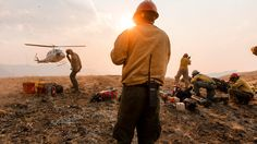 The Men and Women Fighting America's Wildfires Firefighter Pictures, Firefighter Love, Wildland Firefighter Gear, United States Forest Service, Thin Green Line, Safety Message, Smokey The Bears, Hot Shots, Day Work