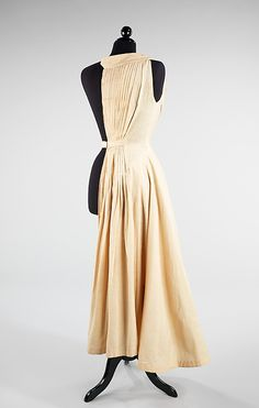 Rare surviving half muslin by Dior