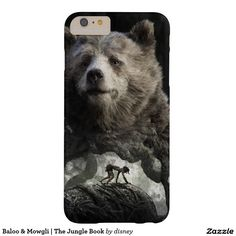 Baloo & Mowgli | The Jungle Book Barely There iPhone 6 Plus Case