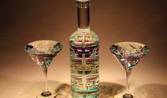 Bella Vodka Glass Sculpture by Fine Art Glass Artist Jack Storms art glass glass sculpture glass art contemporary art modern art contemporary sculpture 2