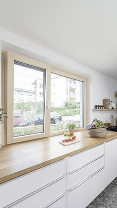 Renovation of the kitchen! Sometimes the most dificult part of rebuilding a house. Find tips for renovation on our I-Blog! #internorm #windows #timberwindow #family #renovation #blog #kitchen Timber Windows, Restoration, About Me Blog, Inspiration, Kitchen, Tips, Home, Ad Home, Homes