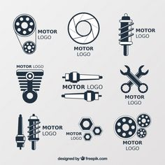 werk Logos for car repair shops Free Vector Setting Up New Office Space? Forget About Needing Furnit Motor Logo, Car Workshop, Car Repair Service, Car Logos, Repair Shop, Car Engine, Car Shop, Banners, Shop Logo