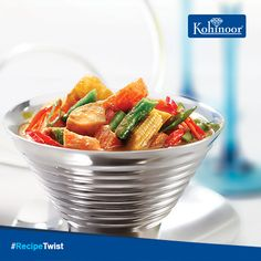 #KohinoorRecipes  Even the 'Great Indian Wedding' is incomplete without this delectable South Asian dish!  Made with Paneer, Cashew, and a host of other seasonings, Vegetable Korma is a 'must have' for all family occasions!  #Recipe: www.kohinoorindia.co.in/recipes/vegetable-korma.html